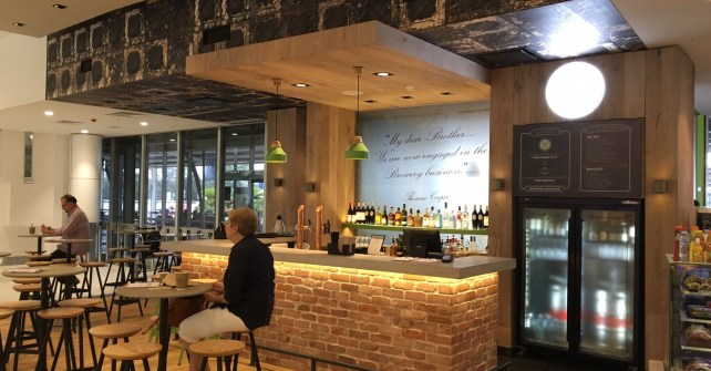 COMMERCIAL REFRIGERATION – Cooper Bar – Sydney International Airport
