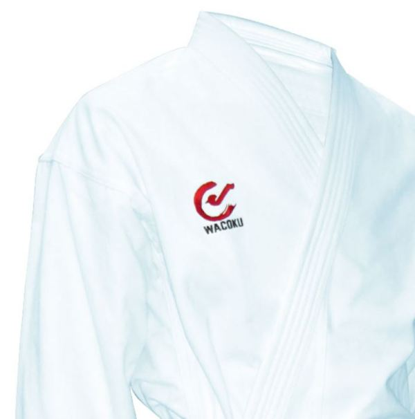 WKF approved wacoku karate suit 12oz at totalcombat.net