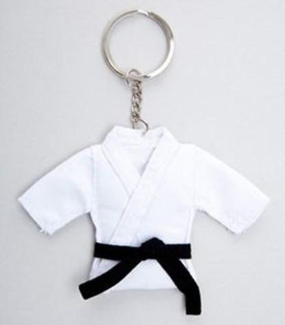 Karate Suit Key Ring