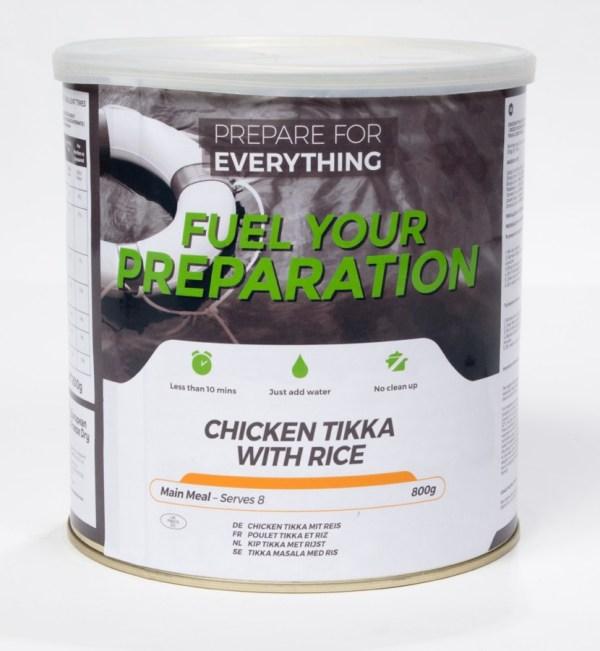 Freeze Dried Tin Chicken Tikka With Rice