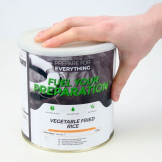 Freeze Dried Tin Vegetable Fried Rice