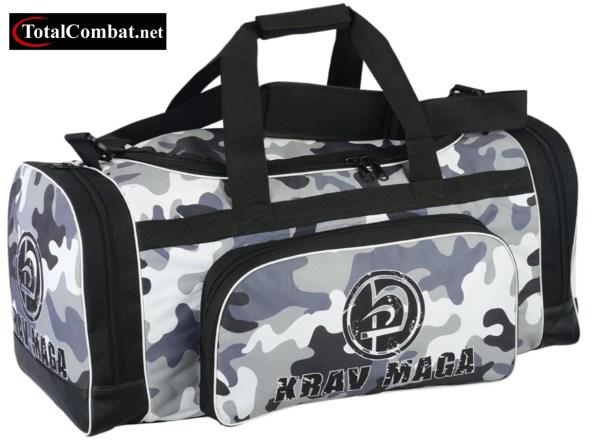 Krav Maga Black Sports Bag