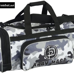 Krav Maga Black Sports Bag