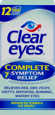 Clear Eyes Complete Ophthalmic