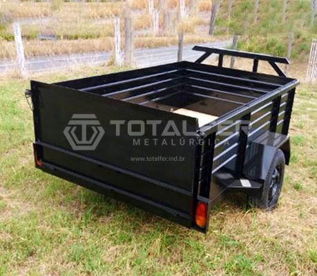 Carretinha Porta Container