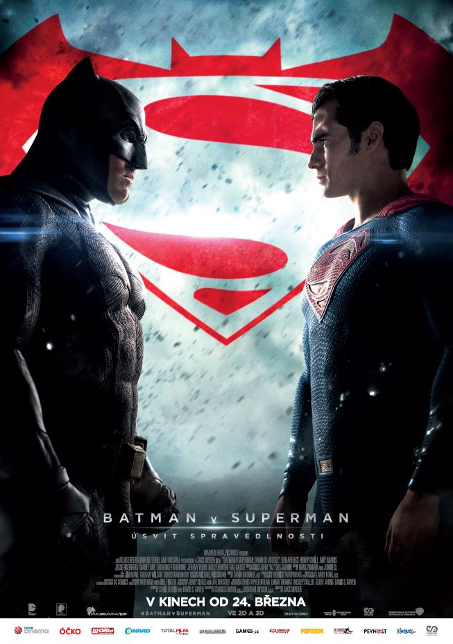 Batman vs Superman CZ poster