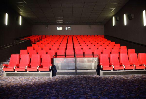 Jeden z nových sálů - Cinema City - Velký špalíček
