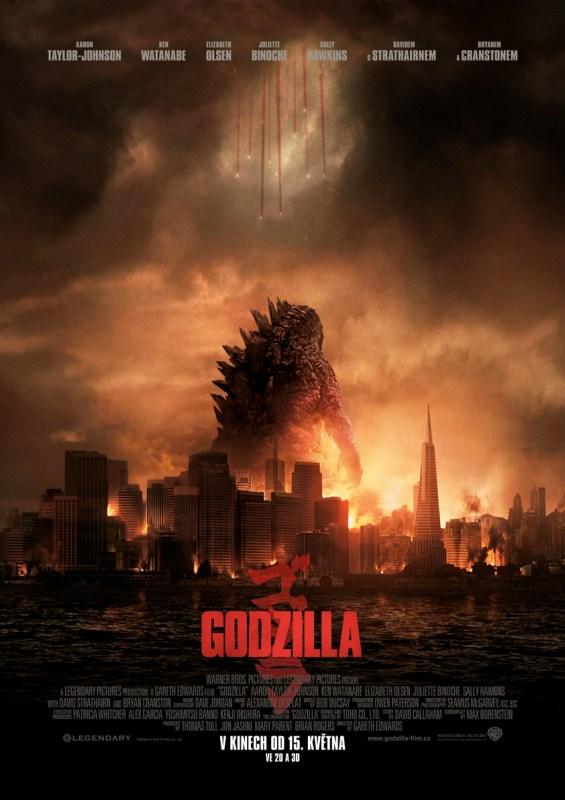 Godzilla plakát