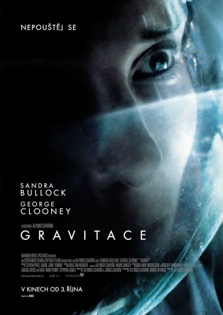 Gravitace plakát