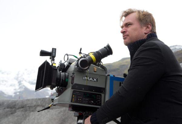 Christopher Nolan na Islandu při natáčení Interstellar