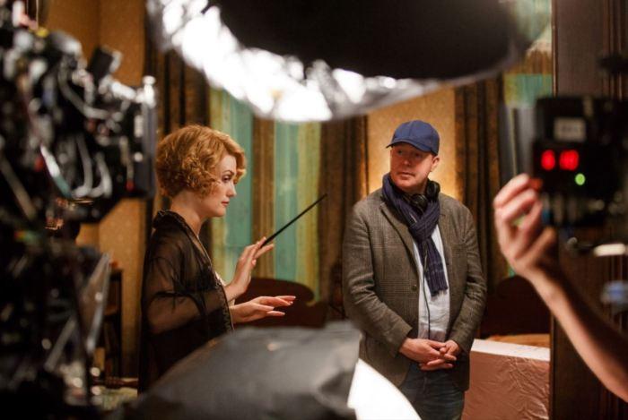 Režisér David Yates na place Fantastických zvířat