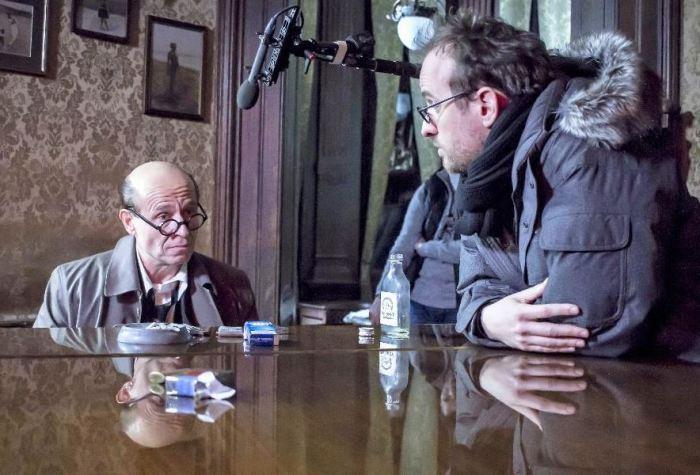 Karel Roden s režisérem na place (foto: In Film)