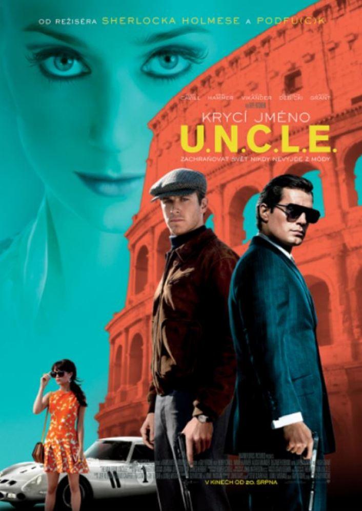 Krycí jméno U.N.C.L.E. poster