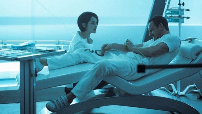 Marion Cotillard a Michael Fassbender (Assasin´s Creed)