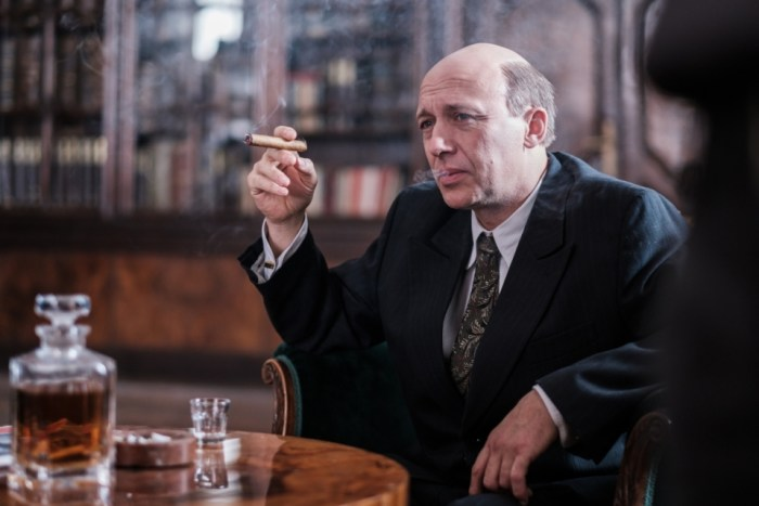 Robert Jašków jako Jan Masaryk ve filmu Milada