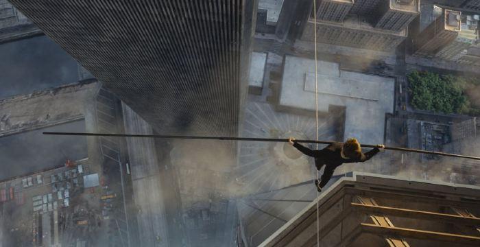 Muž na laně (foto: Falcon)