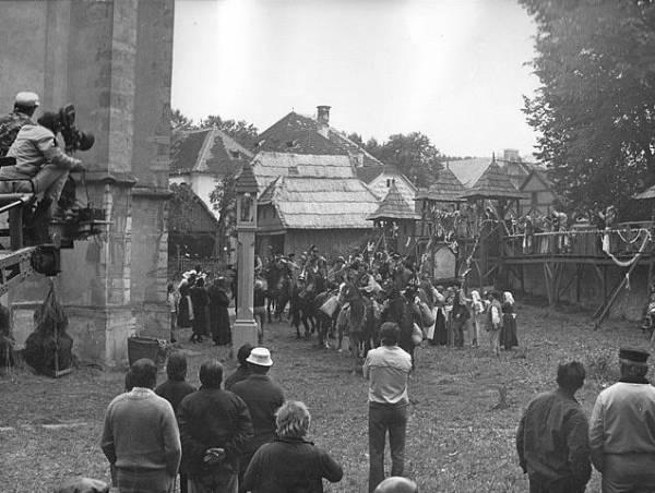 Natáčení filmu Faust a Markéta na jihu čech (foto: archiv)