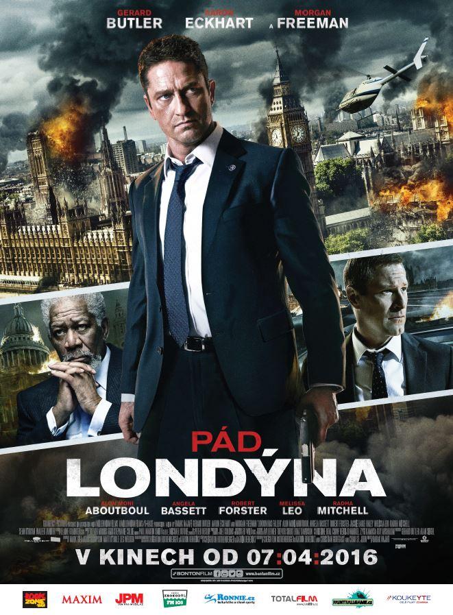 Pád Londýna plakát