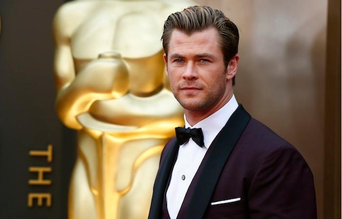 Padesát Chris Hemsworth