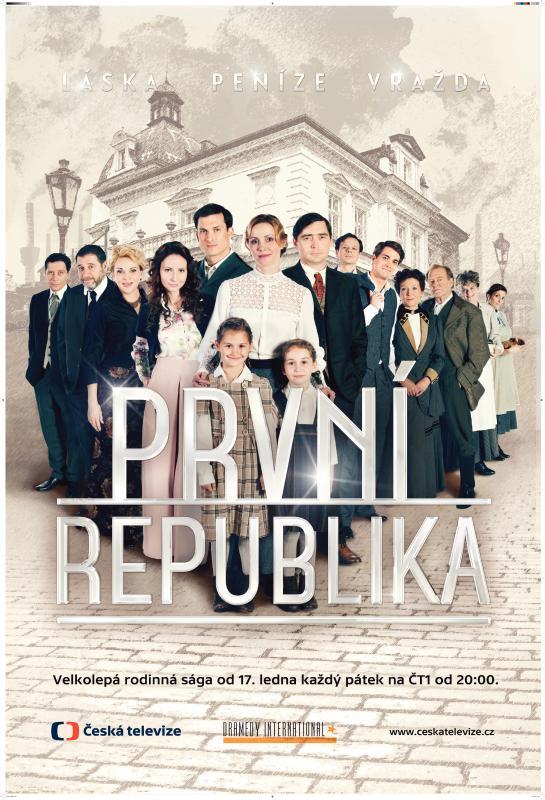 První republika plakát vyšší rozlišení