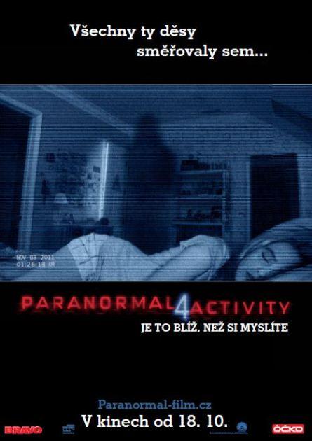 Paranormal Activity 4 plakát