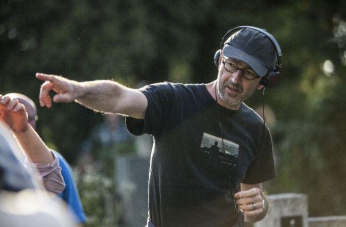 Petr Zelenka na place filmu Ztraceni v Mnichově