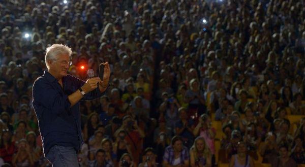Richard Gere v letním kině