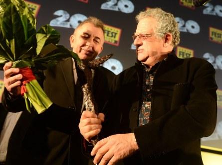 Fero Fenič s producentem   Jeremy Thomasem