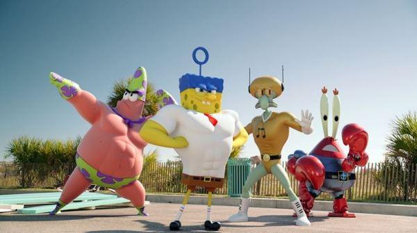 Spongebob ve filmu (foto: CinemArt)