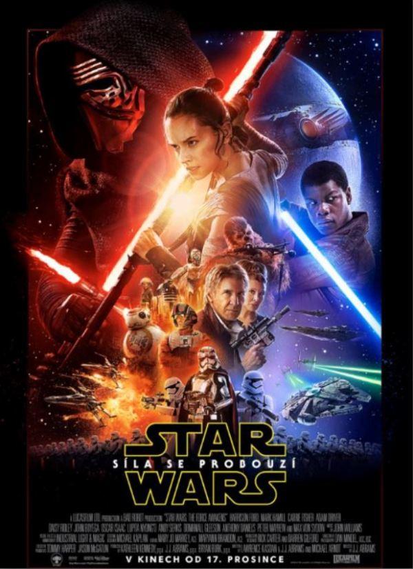 Star Wars Síla se probouzí poster