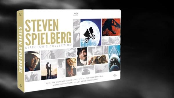 Steven Spielberg kolekce BD krabička