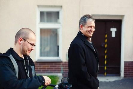 Tomáš Kudrna a Jiří Dientsbier