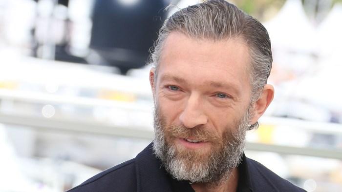 Vincent Cassel na festivalu v Cannes