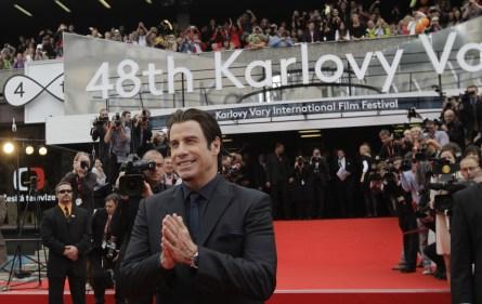 John Travolta před slavnostním zahájením