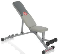 universal five position weight bench