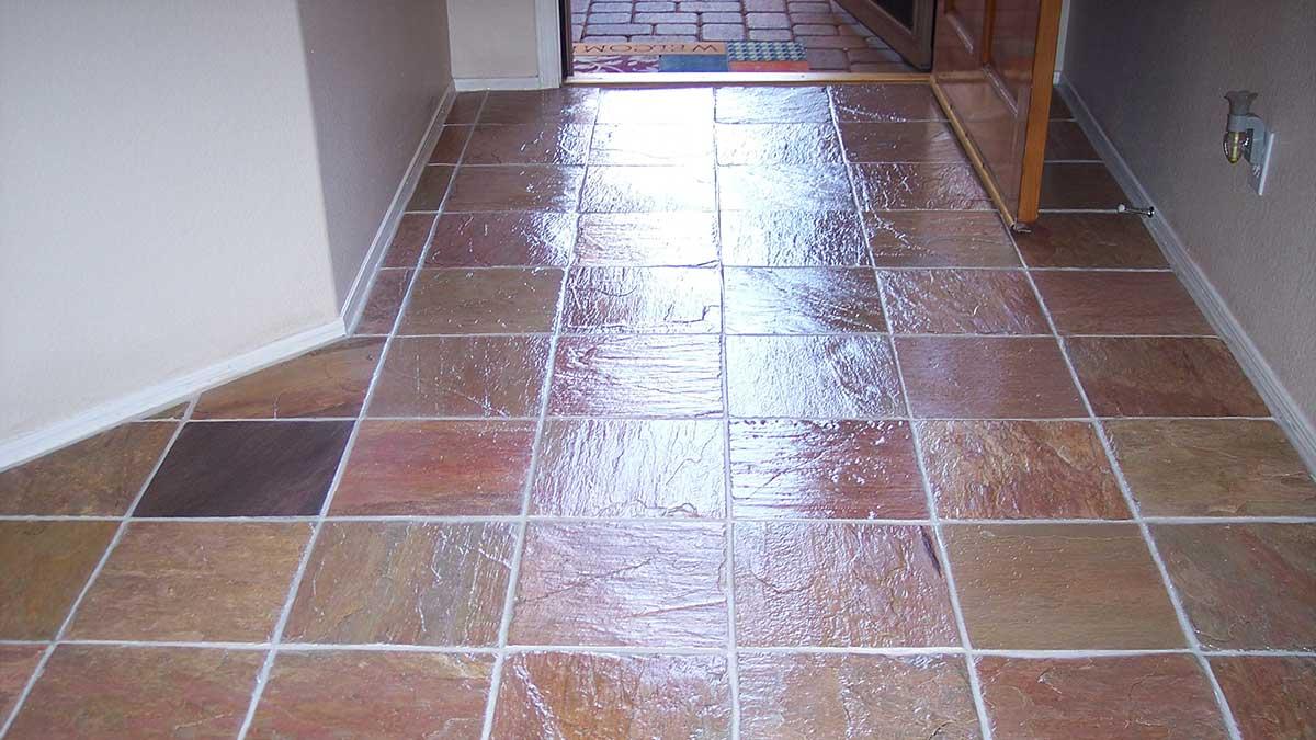 dallas slate floor restoration cleaning