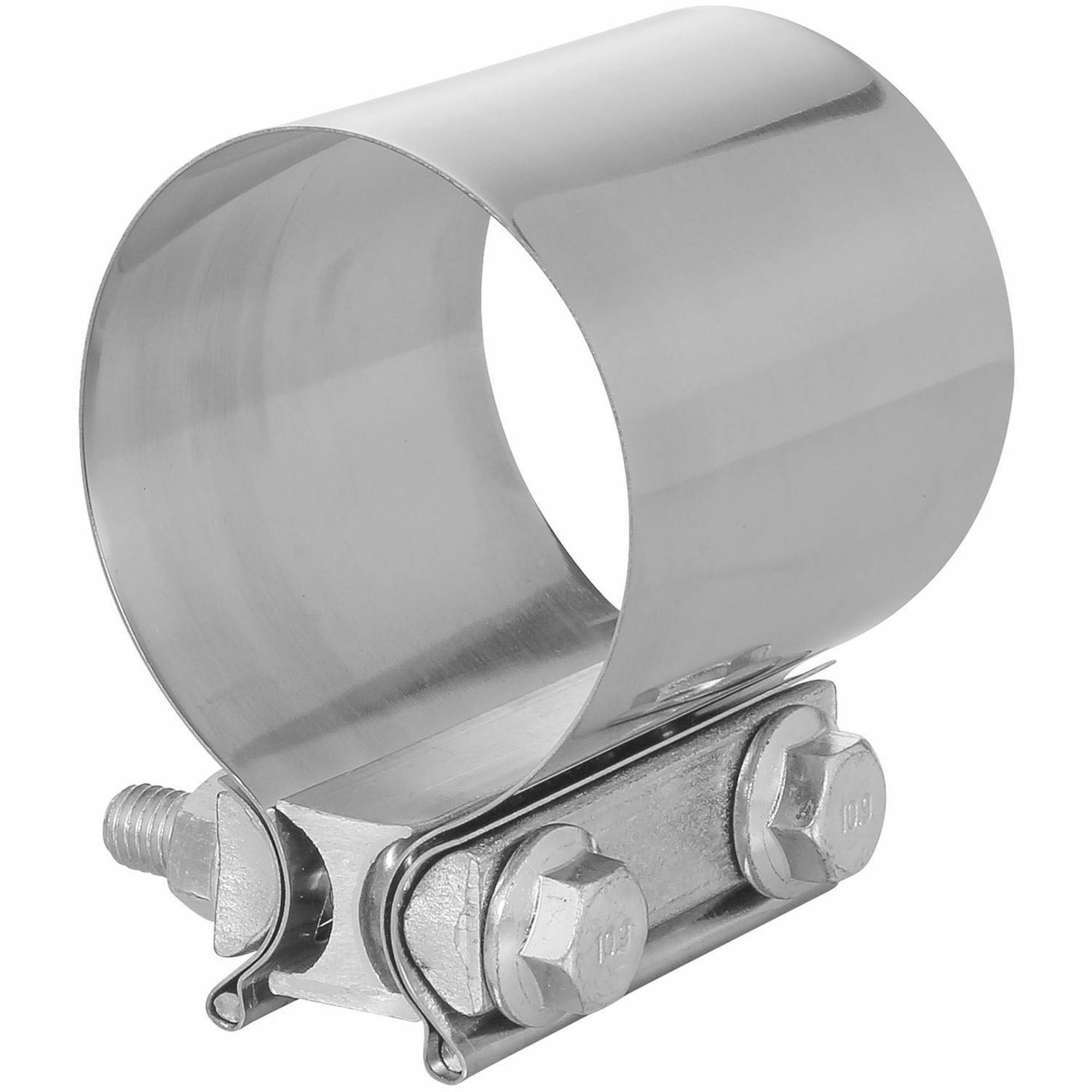 totalflow tf jb62 butt joint exhaust muffler clamp band 4 inch