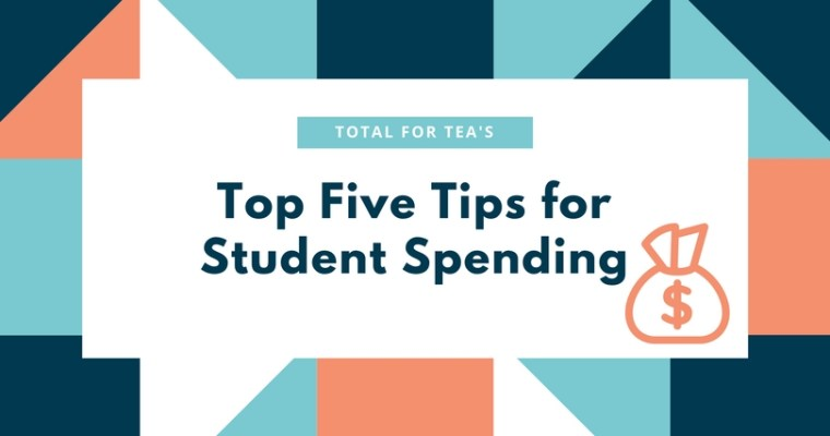 Top five tips for student spending