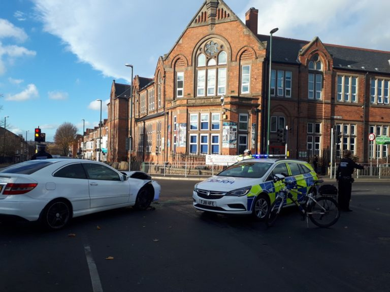 Alfreton Road junction re-opens after crash in Radford