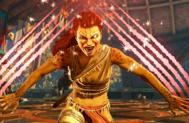 Cheetah leaps into Injustice 2