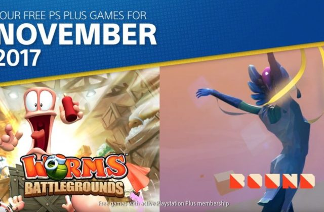Free PlayStation Plus games for November