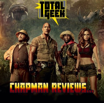 Chapman Reviews Jumanji Welcome to the Jungle