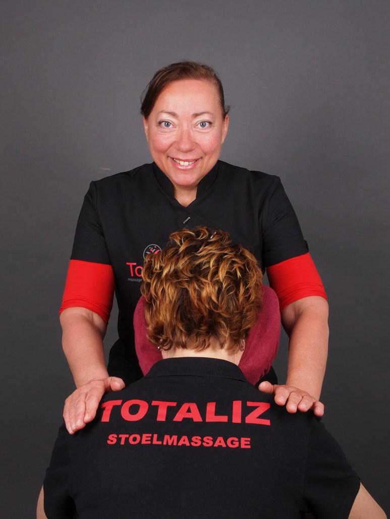 Stoelmassages door Totaliz bij jou bedrijf