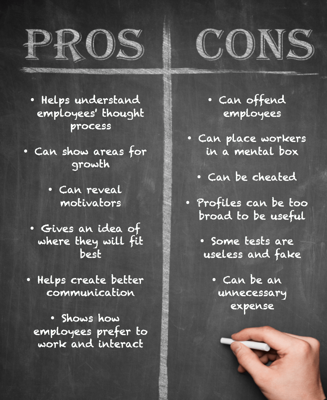 Breaking Down The Pros And Cons Of Using Personality Tests