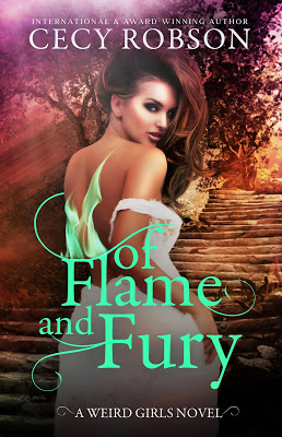 Of Flame and Fury Blog Tour: Cecy Robson