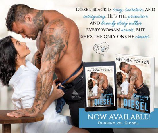 📚Running on Diesel by Melissa Foster
