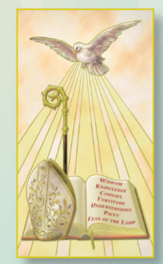 St Rose Of Lima Laminated Holy Card