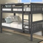 Dayton Twin Over Twin Mission Bunk Bed In Dark Gray Chelsea Home Furniture 36tt600 Dg