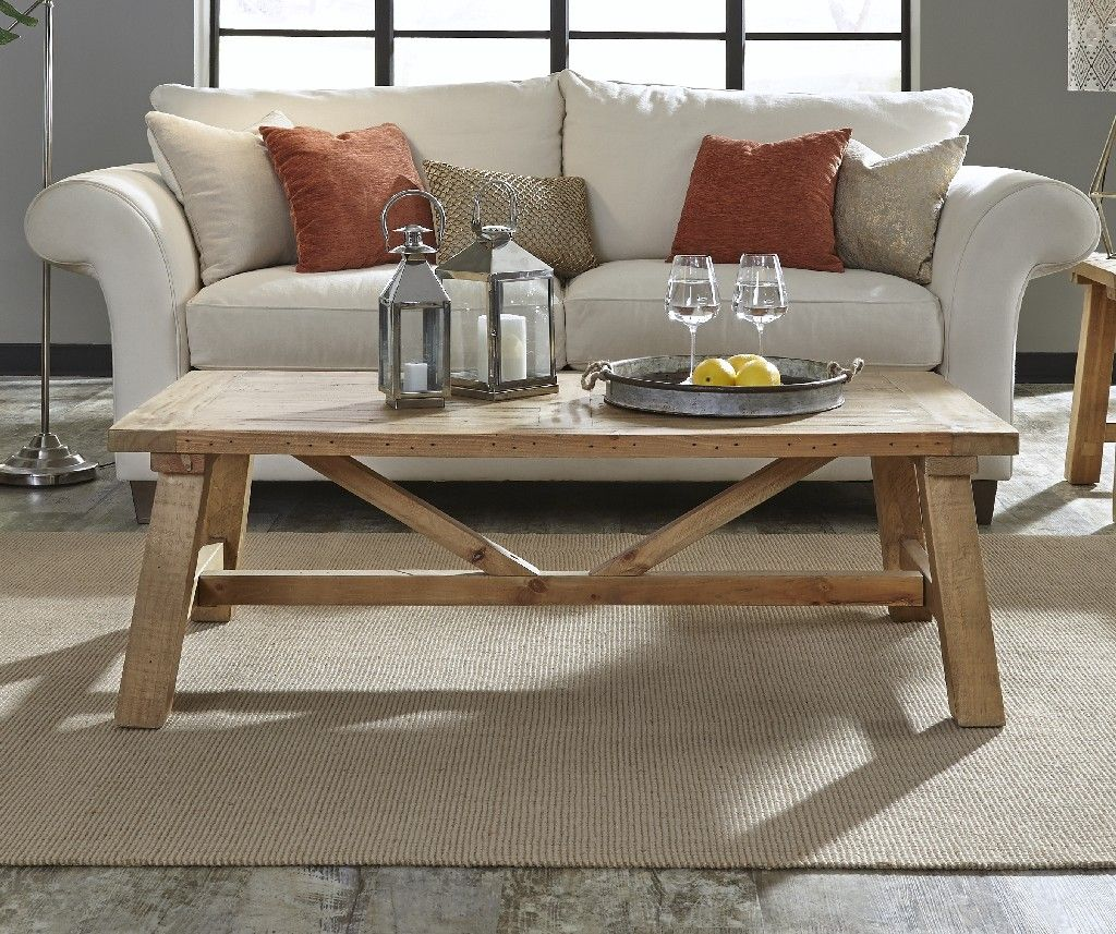 harby reclaimed wood rectangular coffee table in rustic tawny modus 8w6821