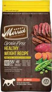 Merrick Grain-Free Healthy Weight Recipe Dry Dog Food